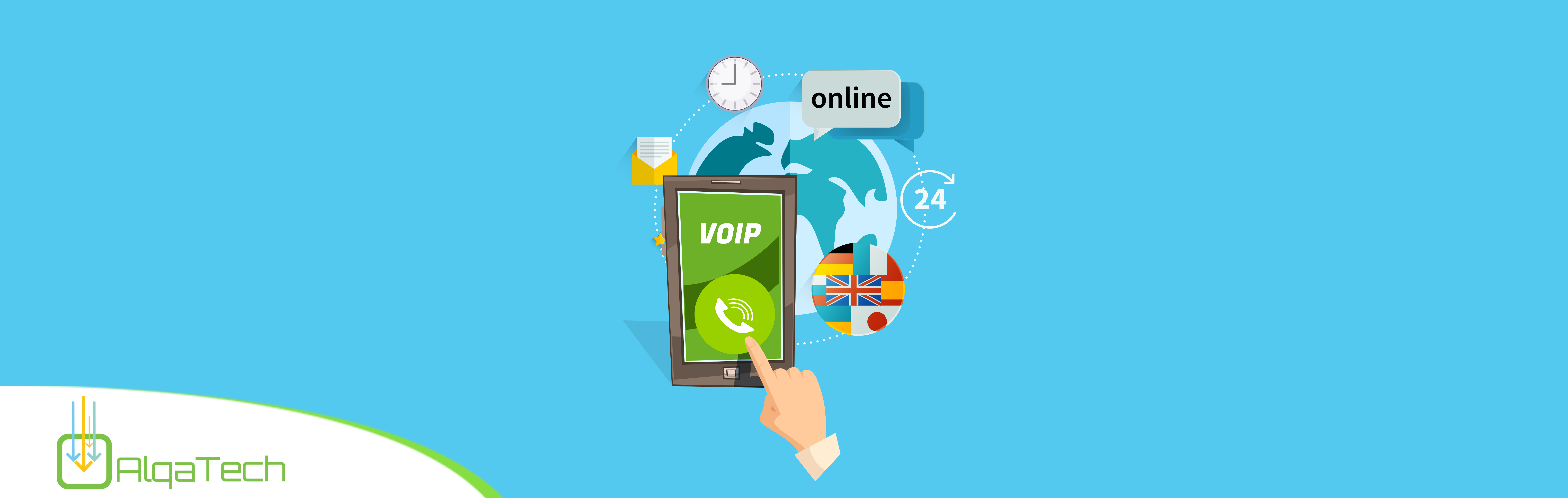 integrate voip callig in mobile app